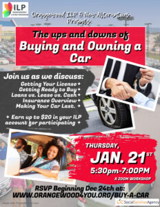 buying and owning a car flyer na