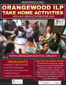new take home activities